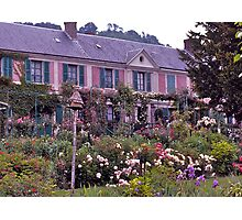 Monet's Home and Garden, Giverny, France. Photographic Print