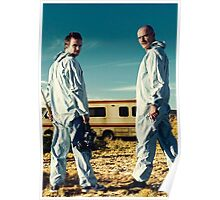 WALTER WHITE AND JESSE PINKMAN | BREAKING BAD Poster