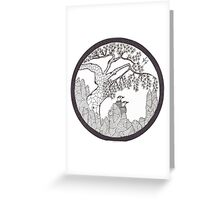 Pine and Pheasant  Greeting Card