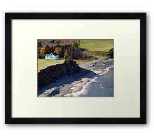 A Home By The Sea Framed Print