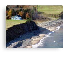 A Home By The Sea Metal Print