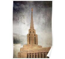 Oquirrh Mountain LDS Temple Poster