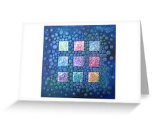 Sea Bubbles Greeting Card