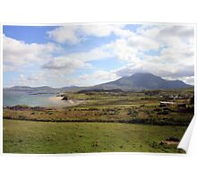Connemara coastline Poster