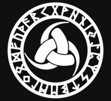 Triple Horn of Odin, Celtic Knot, Triforce, Odin Symbol Kids Tee