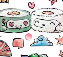 SUSHI NINJAS Sticker