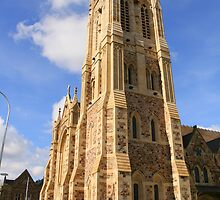 """""""St. Francis Xavier's Cathedral, Adelaide"""" by Gail Mew"""
