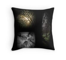 Lost in A Forest Throw Pillow