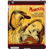 Marlene is Touring in Morocco iPad Case/Skin