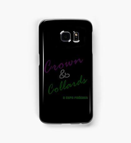 Crown & Collards show logo Samsung Galaxy Case/Skin