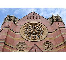 Launceston church window Photographic Print
