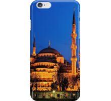 The Blue Mosque & its 6 minarets iPhone Case/Skin