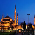 The Blue Mosque & its 6 minarets by Hercules Milas
