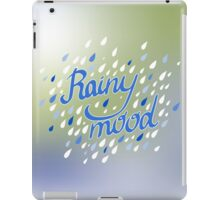 Rainy Day Pattern. Abstract background. Nature pattern for fabric iPad Case/Skin