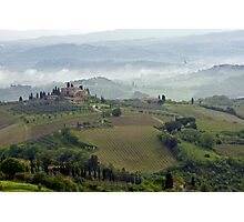 Tuscan Landscape III Photographic Print