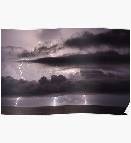 Lightning - Triple Strike Poster