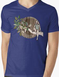 Natural Habitat Mens V-Neck T-Shirt