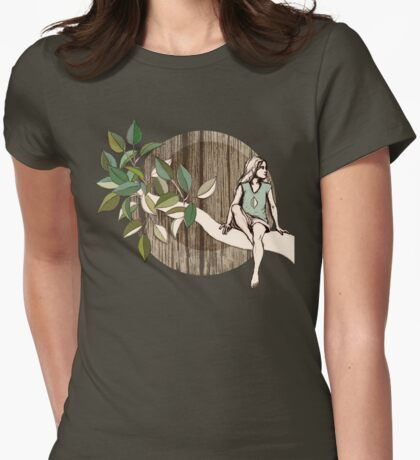 Natural Habitat Womens Fitted T-Shirt