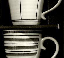 Coffee for two by Gudrun Eckleben