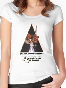 A Clockwork Orange Women's Fitted Scoop T-Shirt