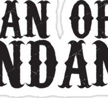 fan of fandango Sticker