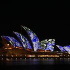 Opera House illuminated II by Dean Perkins