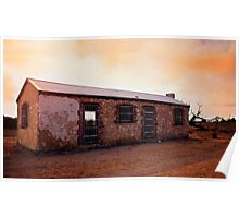 Perry's Bunk House - Western Australia Poster
