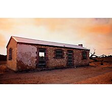 Perry's Bunk House - Western Australia Photographic Print