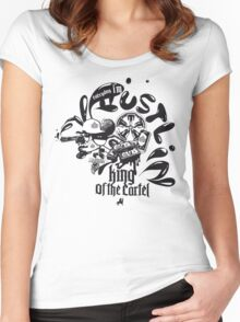 king of the cartel Women's Fitted Scoop T-Shirt
