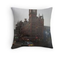 St Pancras Hotel Throw Pillow