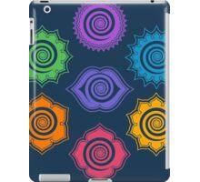 7 Chakras, Cosmic Energy Centers, Evolution, Meditation, Enlightenment iPad Case/Skin