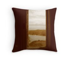 A View of History Throw Pillow