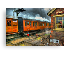 The Way Travel Used To Be Canvas Print