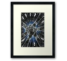 The Collective Unconscious ( Inverted Hexagram ) Framed Print
