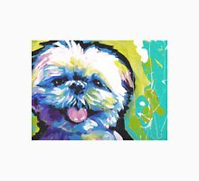 Shih Tzu Bright colorful pop dog art Unisex T-Shirt