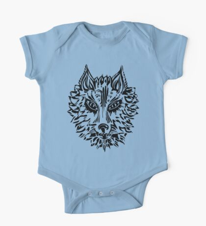 Wolf, Symbol Of Loyalty And Strength One Piece - Short Sleeve
