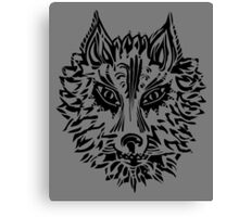 Wolf, Symbol Of Loyalty And Strength Canvas Print