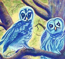 Athena's Owlets by DReneeWilson