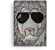 Lion cool  Canvas Print