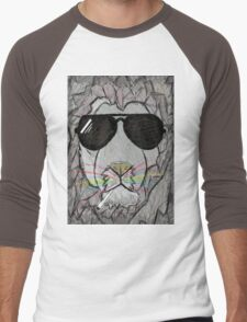 Lion cool  Men's Baseball ¾ T-Shirt