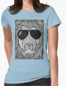 Lion cool  Womens Fitted T-Shirt