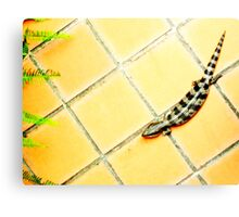 When guests arrive home Canvas Print