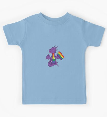 Baby Pride Dragons - Gay Kids Tee