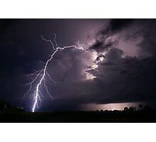 Batchelor Lightning Photographic Print