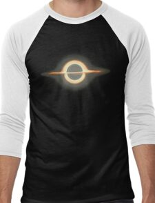 Black hole, Portal, Infinity, Universe, Outer Space, Star Men's Baseball ¾ T-Shirt
