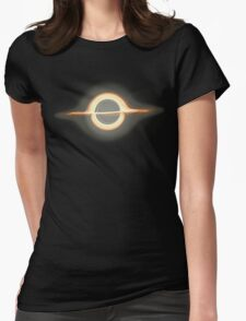 Black hole, Portal, Infinity, Universe, Outer Space, Star Womens Fitted T-Shirt