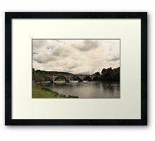 River Tay at Dunkeld Framed Print