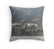 Stanley Hotel - The hotel where the movie THE SHINING was filmed Throw Pillow