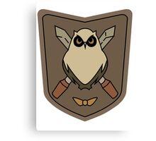 Sora No Woto Owl Crest Canvas Print