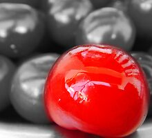 The sweet world through a sour cherry by phiona